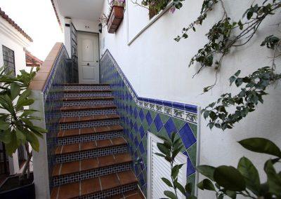 Entrance steps