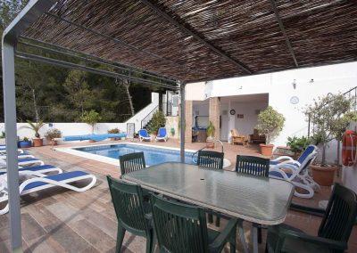 Shaded Terrace Area